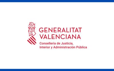 La Consellería de Justicia resuelve favorablemente nuestra inscripción en el Registro de Entidades de Voluntariado